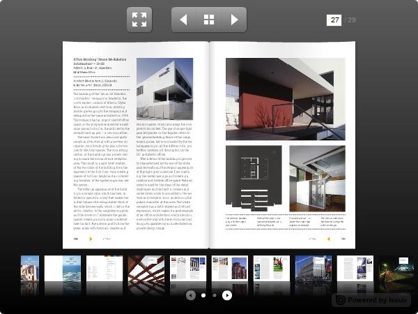 O Issuu também é uma ótima plataforma para hospedagem de portfólios em PDF.