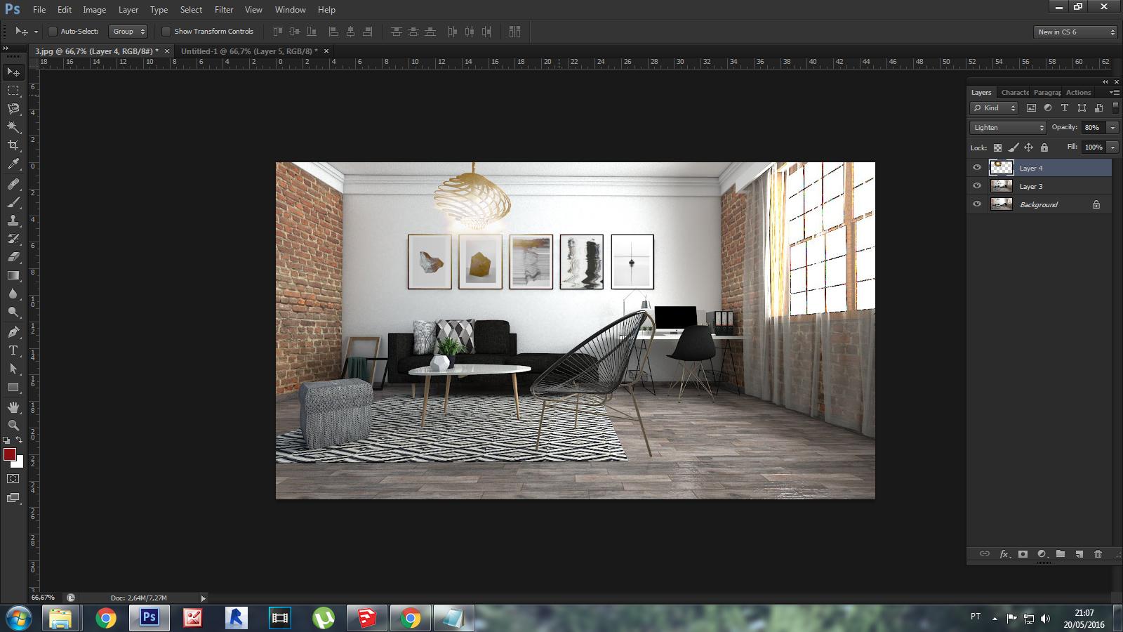 Vray para SketchUp passo-a-passo: Iluminação, Texturas e